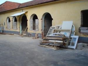 Iskola - a felújítás képei